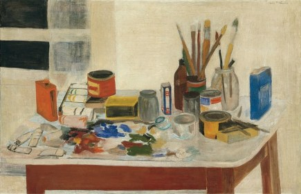 Jane Frelicher, The Painting Table (1954)